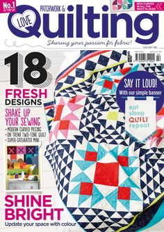 Treat yourself to your favourite quilting magazine & get your copies half price! We're got 50% off when you subscribe today https://www.buysubscriptions.com/print/love-patchwork-and-quilting-magazine-subscription?promo=LPS42&style=Brand&utm_medium=social&utm_source=Pinterest&utm_campaign=Save-50%_LPS42_Brand #quilting #patchwork