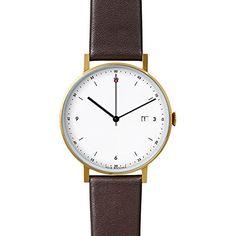 VOID Watch - PKG01 - Gold/Brown/White