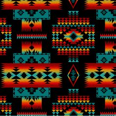 Search for native, Fabric Collections Native American Blanket, Native American Decor, Native American Print, Native American Patterns, American Art, Southwest Quilts, Navajo Pattern, Indian Blankets, Native Design