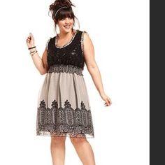 American Rag Sequin Sleeveless Dress - Size S