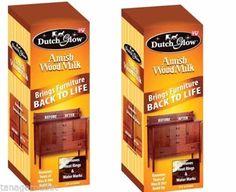 2 Amish Wood Milk DFG Brings  Liquid Furniture Cleaner Polish DutchGlow #DutchGlow
