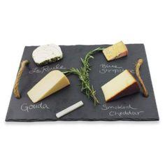 Vintage & Vine Slate Cheese Board - BedBathandBeyond.com- Wedding Registry