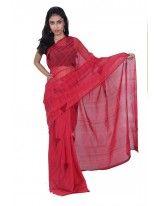 Adorable Red Saree.
