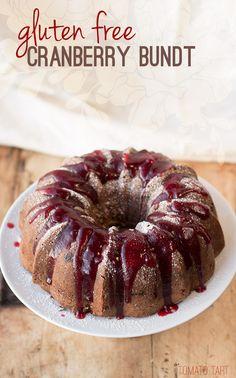Gluten Free Cranberry Bundt Cake, A Vintage Recipe Remake
