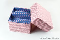 Origami 2 Tier Box Tutorial - Toolbox with Lift-out Tray - Nail Polish Storage