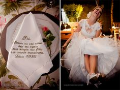 Mimos: Recado para Pai #wedding #casamento
