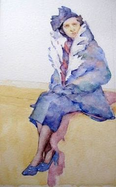 ted nuttall -watercolor