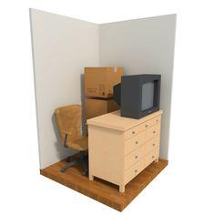 7 Awesome Storage Unit Size Comparison Images Safe