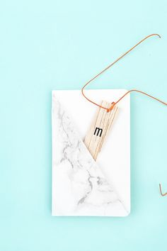 DIY Mini Journals with Marble Pockets - Maritza Lisa: Grab your marble contact paper and download this cut file or PDF to create your own mini marble pockets for your journals. Click through for the tutorial... -  - Paper - Paper Crafts - Stationery - Paper goods