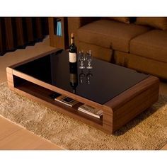 Wooden Coffee Table Designs, Modern Square Coffee Table, Wooden Sofa Designs, Wooden Sofa Set, Centre Table Living Room, Table Decor Living Room, Center Table, Centre Table Design, Sofa Table Design