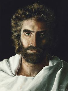 """Accurate image of Jesus according to a child who died and met him and came back to tell his dad, """"because you prayed for me, I came back."""""""