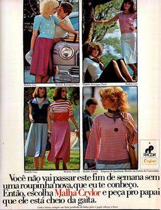 Anúncio malha Crylor - 1975