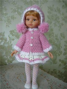 Вязанные наряды для паолочек. / Одежда для кукол / Шопик. Продать купить куклу / Бэйбики. Куклы фото. Одежда для кукол