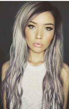 Gray and pretty