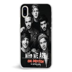 One Direction Who We Are Cover Album,iPhone X Case,Custom iPhone X Case,iPhone X