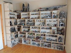 Star Wars Collection: Another perfect use for the BrickBox modular storage system.