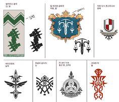 8년이나 된 문양 디자인