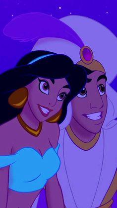 33 ideas for wallpaper disney aladdin iphone wallpapers Walt Disney, Heros Disney, Disney Couples, Cute Disney, Disney Art, Aladdin Princess Jasmine, Disney Princess Jasmine, Cinderella Princess, Princess Aurora