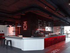 "Sushi and wok restaurant ""KOI"". on Student Show - Sushi and wok restaurant ""KOI"". on Student Show - Bar Interior Design, Restaurant Interior Design, Cafe Design, Interior Concept, Restaurant Concept, Cafe Restaurant, Chinese Restaurant, Sushi Bar Design, Sushi Cafe"