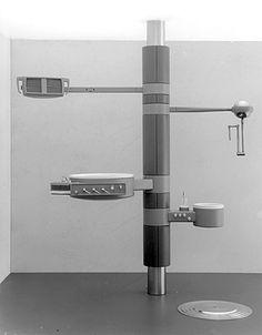 """""""Dentaleinheit"""", Prof. Walter Zeischegg/ Estudiantes: P. Beck, P. Emmer, R. Deckelmann (1961/62)"""