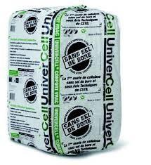 ouate de cellulose univercell en sac de 12.5kg