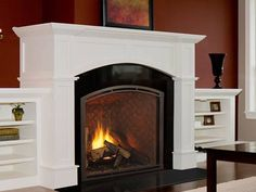 The Heirloom provides authentic masonry style without the costs of a site-built masonry fireplace. The largest viewing areas in their class showcase intense fires and textured brick interiors. Powerful heat and high-efficiency performance help make the Heirloom a valuable addition to any home.