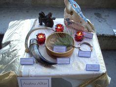 Asatru sample Altar