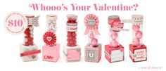 Super fun for Valentine's Day!  Spend $35 from the Fall/Winter Idea Book, get this set for only $10!  Ask me about additional savings when you purchase from me!!