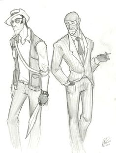 Sniper and Spy
