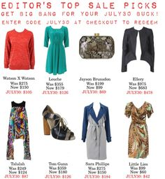 """""""Editor's Top Sale Picks"""" by thedreamery on Polyvore"""