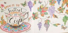 JOYOUS BLOOMS TO COLOUR COLOURING BOOK IN PRISMACOLORS