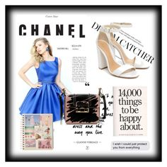 """Short Royal Sherri Hill 50505 Beaded A Line Homecoming Dress"" by homecomingqueendress on Polyvore featuring Sherri Hill, Lanvin, Schutz, dress and Homecoming"