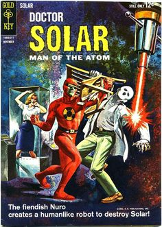 Doctor Solar, Man of the Atom #6 (Nov '63) painted cover by George Wilson.