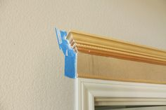 door molding ideas | Making Your Doors Pretty With Molding (and a How-to) - Decorchick!
