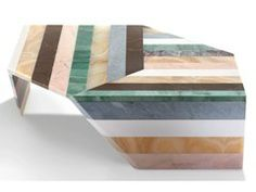 Marble coffee table ORIGAMI - Budri
