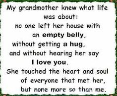 grandma quotes from granddaughter - Google Search