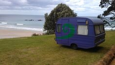 Whananaki, Northland, New Zealand.    Caravans - a kiwi icon.  #New Zealand #NZ #Northland