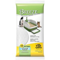 Tidy Cats Cat Litter, Breeze Litter System, Pad Refills -- Read more  at the image link.