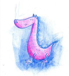 sketch of dragon on Flickr.