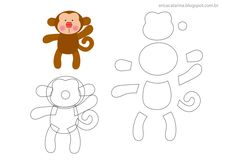 monkey #pattern #template