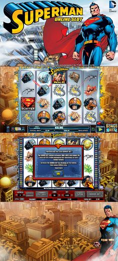 NextGen Gaming has released two exciting new slots and they are now available for you to enjoy at Rizk Casino!  --  #Superman #OnlineCasino #Slot