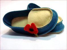 Patrón de costura de zapatos de bebé Mocs de por LenasShoePatterns