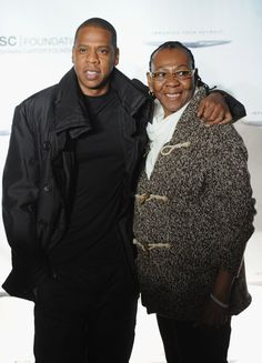 Pin for Later: Kennt ihr schon die Mütter der Stars? Jay Z