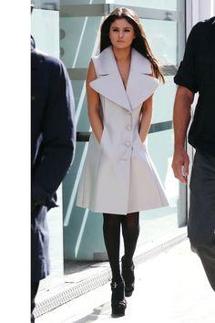 WIn olford tights and Michael Kors shoes   - HarpersBAZAAR.com