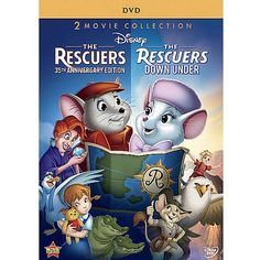The Rescuers (35th Anniversary Edition) / The Rescuers Down Under (Widescreen)