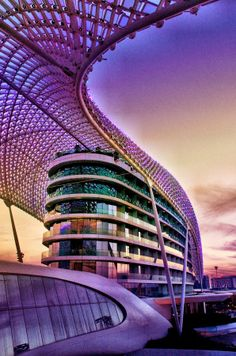 Yas Viceroy Hotel by Dan Dowe on 500px