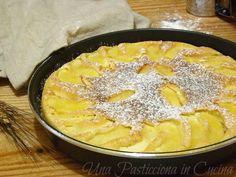 torta di mele al microonde ricetta veloce Microwave Cake, Microwave Recipes, Cooking Recipes, Torte Cake, Strudel, Dessert Recipes, Desserts, Original Recipe, Cornbread