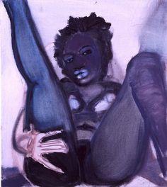Jeff Evans Paintings INFLUENCE: Thomas Ruff and Marlena Dumas