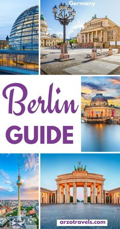 Berlin Guide for your trip to Germany´s capital. Places to see, things to do, where to sleep, where to eat.