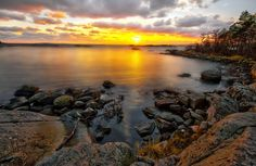 Yet Another Swedish Sunset by Ludwig Sörmlind